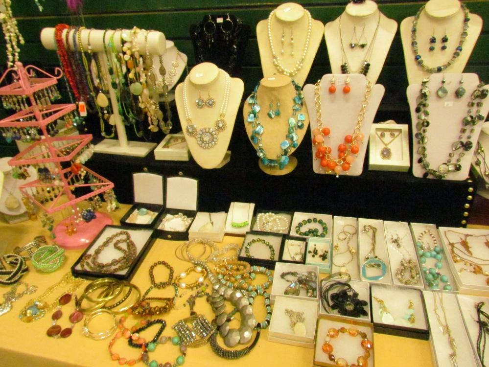 Jewelry at Gibraltar Weekend Market London Ontario