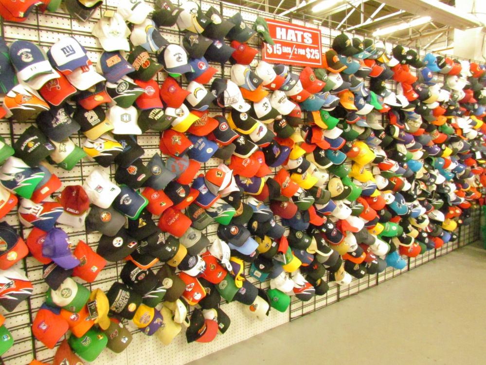 Reebok NHL Hats Gibraltar Weekend Market London Ontario Canada